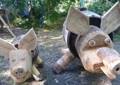 duo cochons